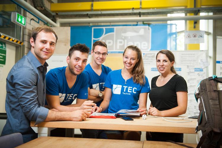 Studierende des Studiengangs International Project Engineering
