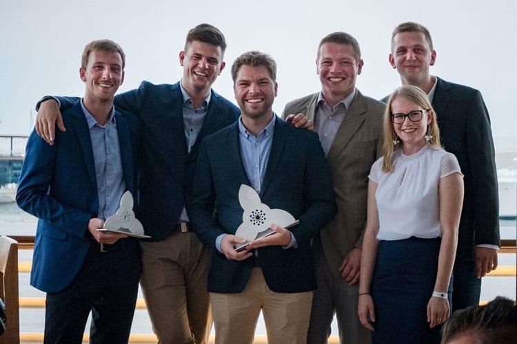 Projektteam mit Auszeichnung