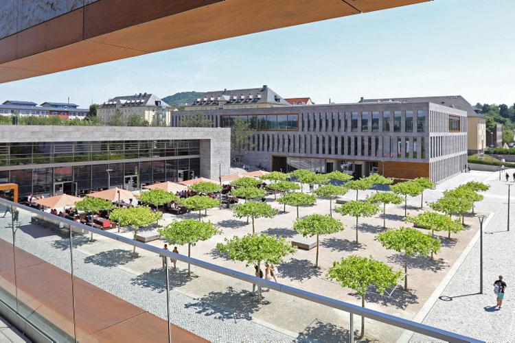 Gebaeude der Hochschule Fulda
