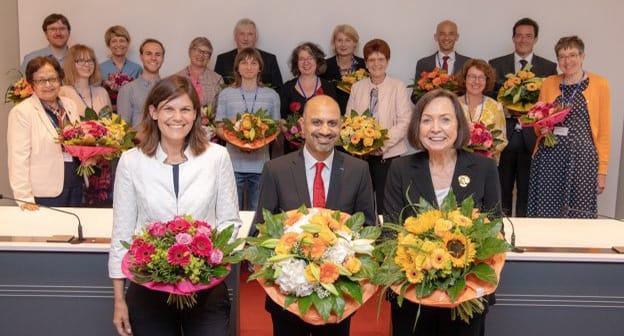 Die gewählten Vertreter*innen des DAAD Vorstands