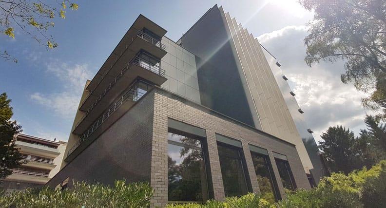 Das Gebäude der Hochschule für Wirtschaft und Umwelt Nürtingen-Geislingen