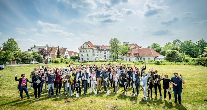 Spatentisch an der Hochschule Osnabrück