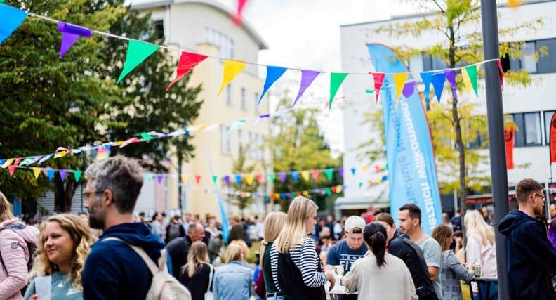 Street-Food-Fest auf dem Campus Mönchengladbach