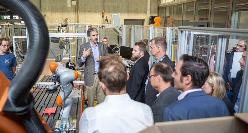 Der Dialog zwischen Wissenschaft und Wirtschaft stand im Vordergrund der ersten Transferkonferenz TRIOKON an der OTH Regensburg