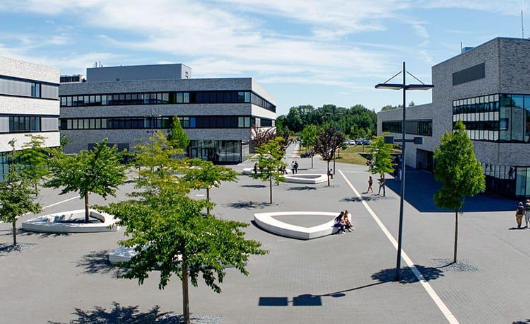Der Campus der Hochschule Hamm-Lippstadt