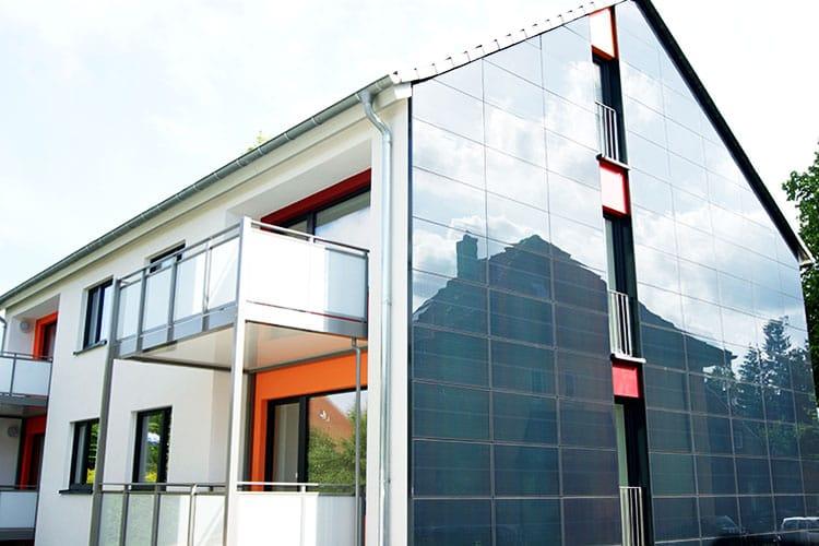 Solar Architektur für einen modernisierten Altbau