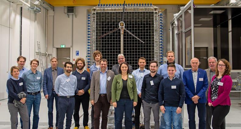 Treffen der beteiligten Wissenschaftlerinnen und Wissenschaftler im November.
