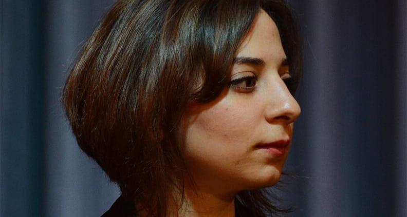 Heba Alkadri studiert an der Jade Hochschule Medienwirtschaft und Journalismus. Die junge Frau wurde mit dem DAAD-Preis 2019 ausgezeichnet.
