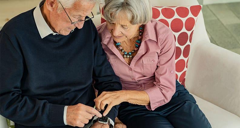 Viele Pflegepatienten können zuhause noch sehr gut zurecht kommen, wenn sie die richtige Unterstützung erhalten.