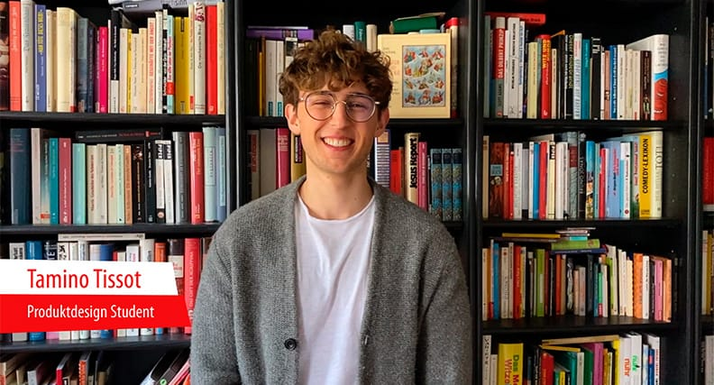 Der Student Tamino Tissot erzählen per Video vom Studentenleben in Coburg.