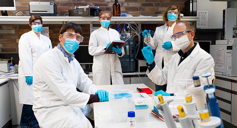 Forschungsprojekt der Hochschule Coburg zu Bioziden in Baustoffen.