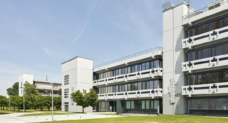 Campus der Hochschule Reutlingen.