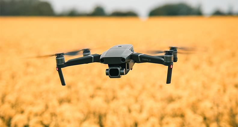 Effektiver Einsatz von Pflanzenschutzmitteln via Smart Farming.