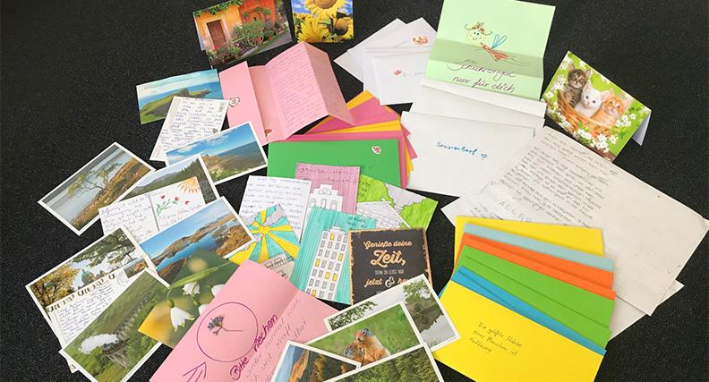 55 Postkarten und Briefe haben die hsg Bochum bereits erreicht. Bis zum 10. Mai 2020 können weitere Grußbotschaften eingehen.