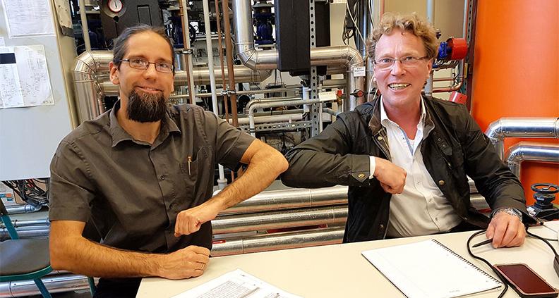 Wissenschaftlern der Hochschule Stralsund gelingt erstmals die direkte Produktion von Methanol aus Wasserstoff und Kohlendioxid.