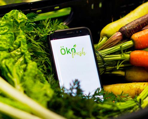 Frisches Obst und Gemüse vom regionalen Bauernhof direkt nach Hause – das ist das Ziel des Osnabrücker Bio-Lieferdienstes Ökofresh. Sechs Studierende haben für das Start-up zwei Apps entwickelt.