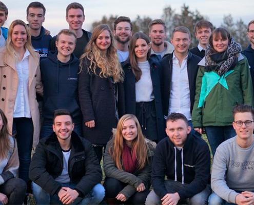 Das Team der Studierenden.
