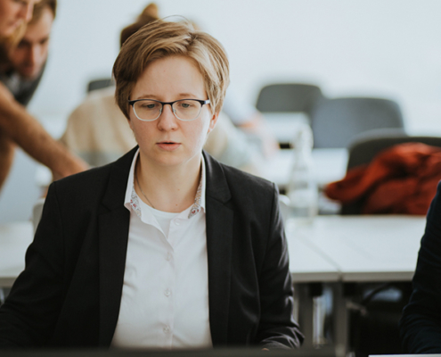 Katharina Gapp-Schmeling im Interview.