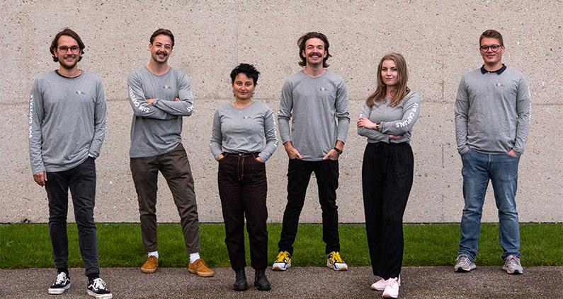 Das Team des Start-Ups.