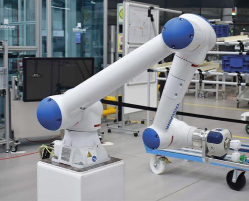 Die erarbeiteten Forschungsergebnisse werden in der Lern- und Musterfabrik am TZ PULS in Dingolfing umgesetzt werden.