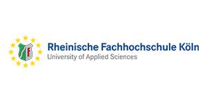 Logo Rheinische Fachhochschule Köln.