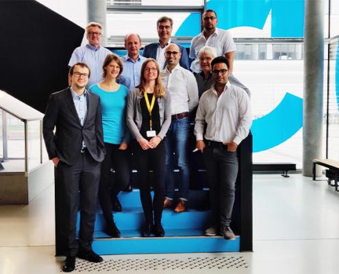 Das Projektteam der Forschungsgruppe ReffiMaL.