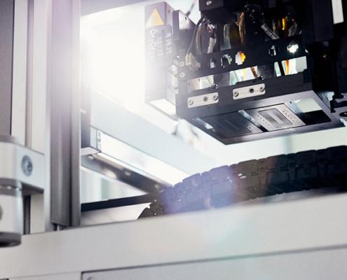 Sobald eine erfolgversprechende Legierung gefunden ist, wird ein Hybrid-3D-Drucker der FH Bielefeld eine Komponente für ein Kühlaggregat erstellen.