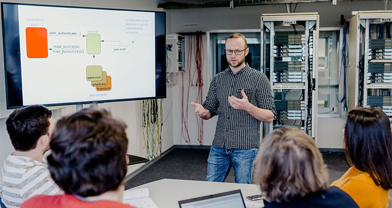 Der Cyber Campus NRW der Hochschule Bonn-Rhein-Sieg und der Hochschule Niederrhein nimmt Gestalt an.