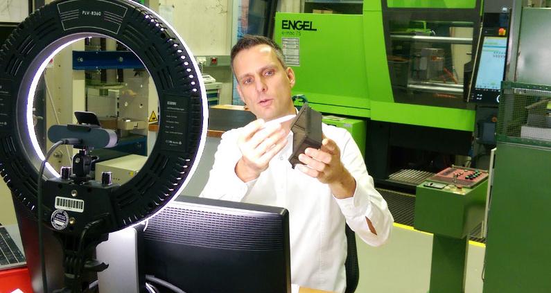 Kunststoffverarbeitung dank des Konzepts von Prof. Dr.-Ing. Daniel Paßmann