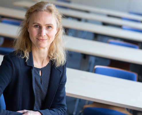 Prof. Dr. Birgit Möller-Kallista vom Fachbereich Sozialwesen der FH Münster lehrt und forscht unter anderem zum Thema Geschlechtervielfalt.