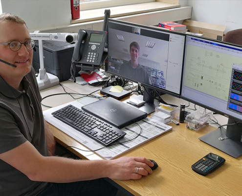 Projektleiter ist Prof. Dr. Fabian Mink vom Friedberger Fachbereich Informationstechnik – Elektrotechnik – Mechatronik.