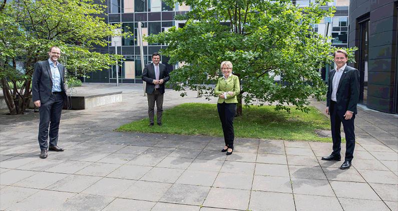 RuhrTalente und TalentKolleg Ruhr der Westfälischen Hochschule dauerhaft vom Land NRW gefördert