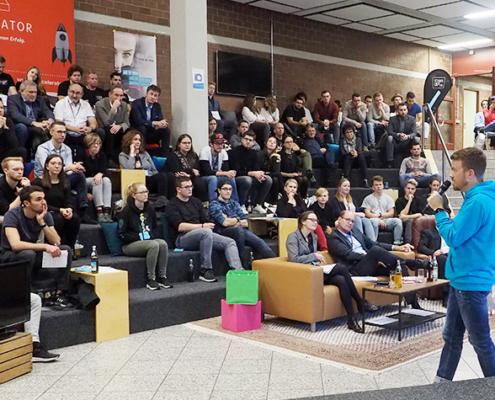 Mehr als 3500 Studierende nahmen bereits am Gründer-Talk teil.