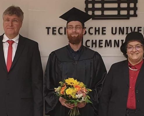 Tino Morgenstern promoviert an der TU Chemnitz in Kooperation mit dem HRW Institut Mess- und Sensortechnik.