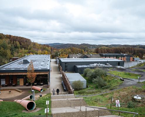 Der Bergische Abfallwirtschaftsverband (BAV) und die TH Köln forschen am Lehr- und Forschungszentrum :metabolon in Lindlar an einem nachhaltigen und innovativen Umgang mit Ressourcen.