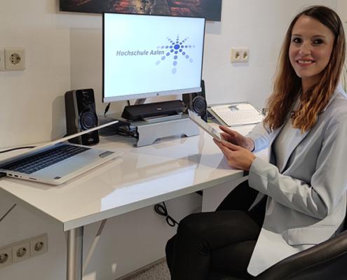 Studentin Franziska Necke hat die Auswirkungen der Coronapandemie auf Frauen im Gesundheitssektor untersucht.