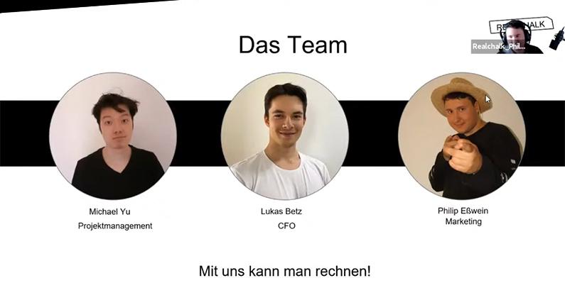 Michael Yu, Lukas Betz und Philip Eßwein möchten das Problem von zwei Dritteln aller Schüler:innen in Deutschland lösen, die Schwierigkeiten im Fachbereich Mathematik haben.