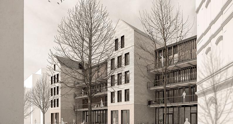 Mit zwei innerstädtischen Quartieren in Gießen befassten sich Entwürfe von Masterstudenten der Architektur am Fachbereich Bauwesen.
