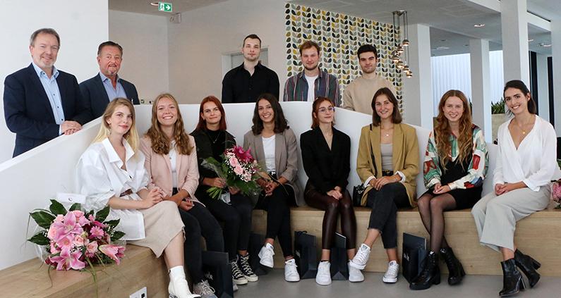 Studierende gewinnen Interior-Design-Wettbewerb.