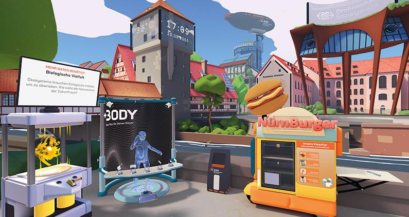 In einem gemeinsamen Forschungsprojekt haben das Cologne Game Lab (CGL) der TH Köln und das Deutsche Museum Nürnberg ein virtuelles Bild vom Leben im Jahr 2050 entwickelt.