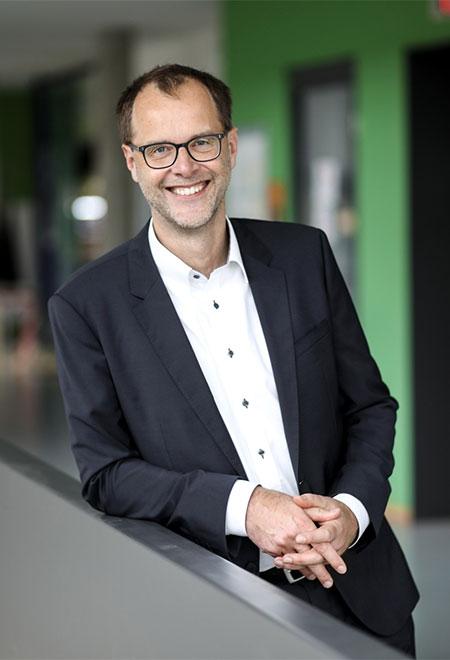 Prof. Dr. Bernd Kriegesmann.